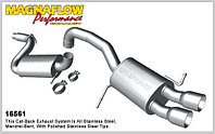 Выхлопная система MagnaFlow на Volkswagen Passat CC (2009-12)