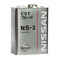 Трансмиссионное масло CVT NS-3 4LX6