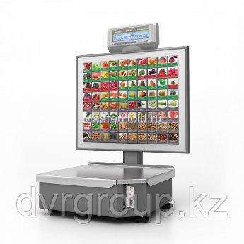 Весы электронные торговые с печатью этикеток Штрих-Принт С для самообслуживания