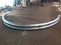 Гибка профильных круглых и спиральных труб