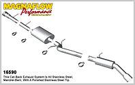 Выхлопная система MagnaFlow на Cadillac Escalade