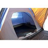 Палатка 8мест. Бурабай мат 190Т,РU2000мм,син/оранж(2шт), фото 2