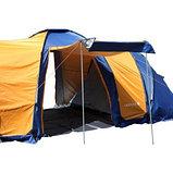 Палатка 8мест. Бурабай мат 190Т,РU2000мм,син/оранж(2шт), фото 4