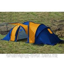 Палатка 8мест. Бурабай мат 190Т,РU2000мм,син/оранж(2шт)