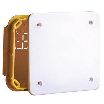 Коробка ответвительная прямоуг. для твердых стен, IP40, 118х96х70мм
