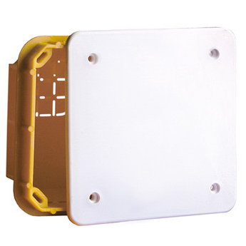 Коробка ответвительная прямоуг. для твердых стен, IP40, 154х98х70мм