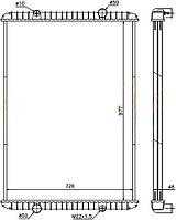 Радиатор  RENAULT MAGNUM 90-05
