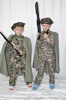 Детская униформа солдата