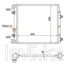 Радиатор SEAT IBIZA 01-08
