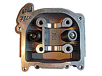 Головка цилиндра 50; 60; 72 сс, в сборе с клапанами /двигатель 4T 139QMB