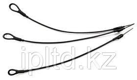Тросик крепежный стальной в оболочке Pin Lanyard black Pin