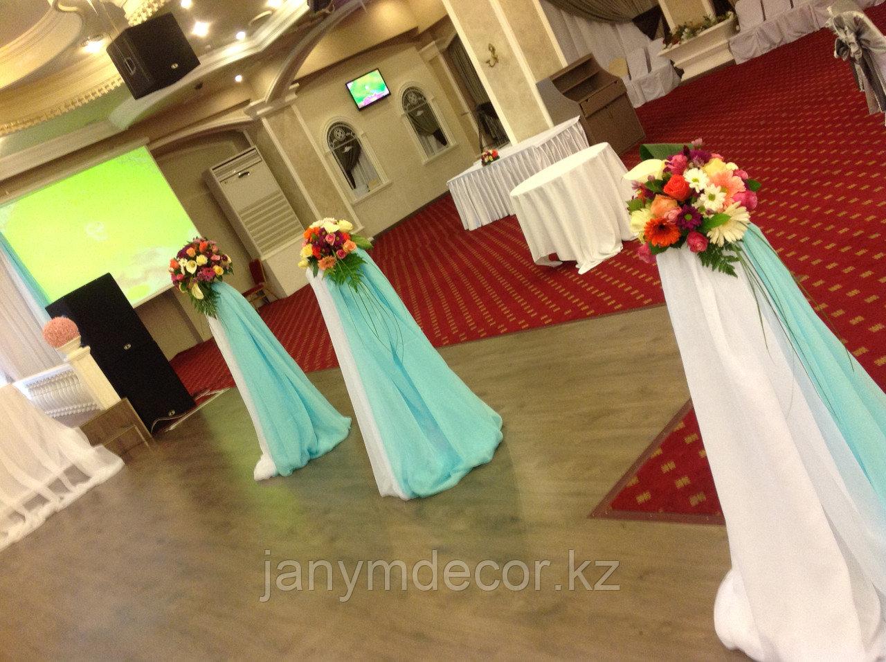 Оформление свадьбы в зале Esperanza - фото 2