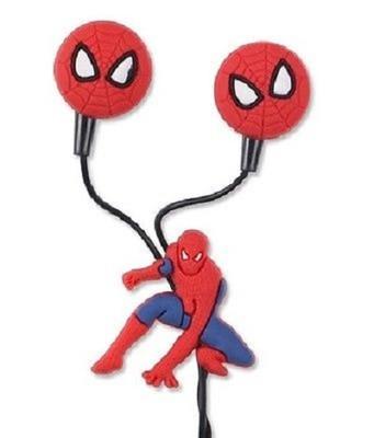 Детские наушники Спайдермен (вкладыши, с разноцветными насадками)