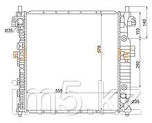 Радиатор SSANGYONG KYRON 05-11