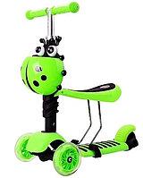 Самокат Scooter Mini (Божья-коровка), зеленый, фото 1