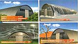 Демонтаж (разборка) с последующим монтажом (сборкой) бескаркасных арочных зданий, ангаров, сооружений, фото 4