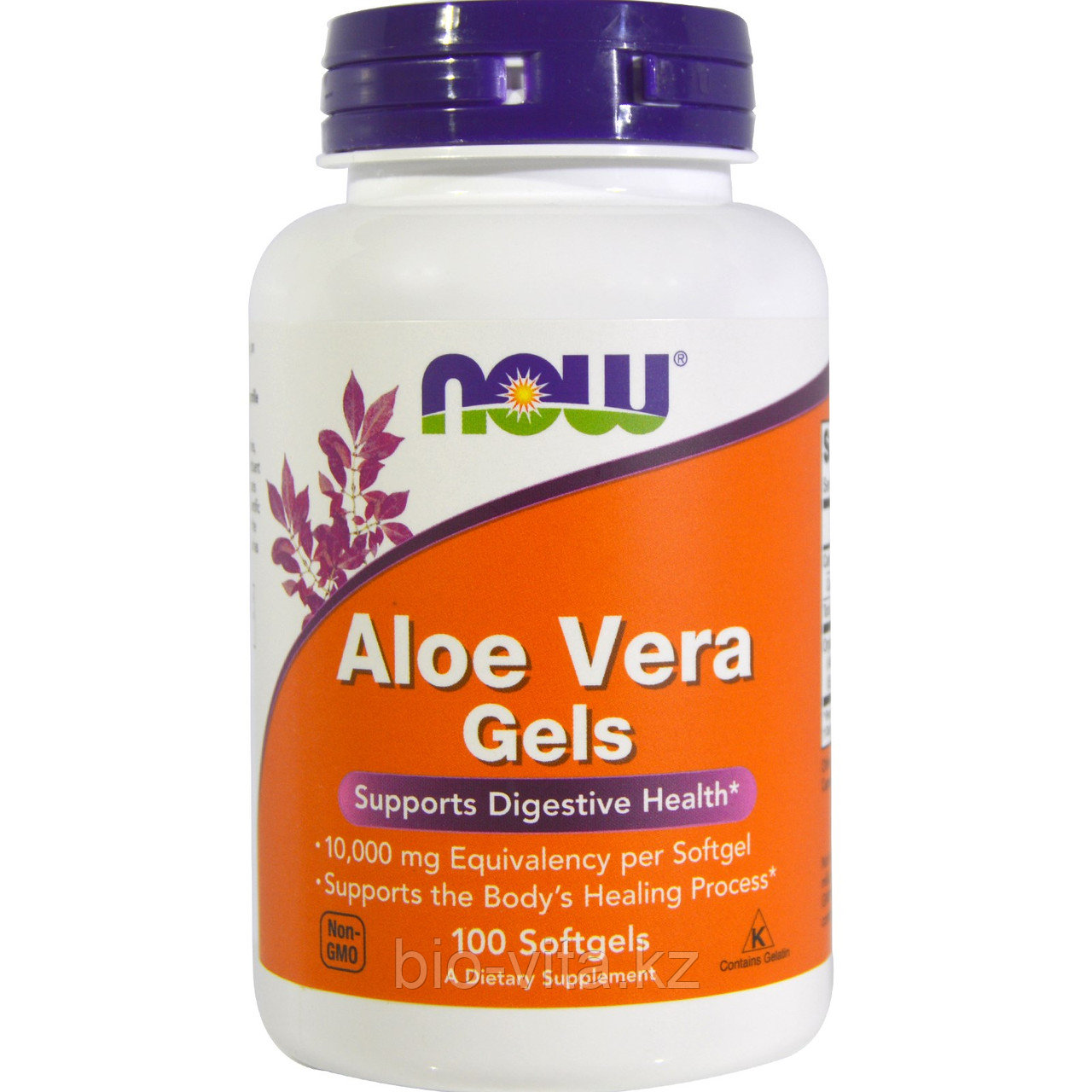 Алое вера. Aloe Vera Gels, 100 Softgels. Now Foods