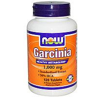 Гарциния, 1,000 мг, 120 таблеток. Now Foods, фото 1