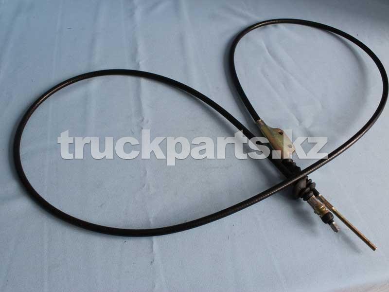 Трос привода стояночного тормоза передний FAW 3508075-Q3