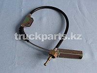 Трос привода стояночного тормоза задний FAW 3508140-Q7