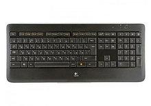 Logitech 920-002395 K800 клавиатура беспроводная с подсветкой Keyboard, Russian Layout