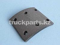 Накладка тормозная задняя 130x150/140-12,5 H80x50 Фотон (FOTON)