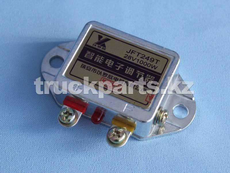 Реле-регулятор напряжения генератора JFT249T 28V 1000W внешнее ДВС 4D26 (QC490)