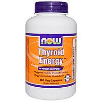 Энергия щитовидной железы, 180 капсул.  Now Foods БЕСПЛАТНАЯ ДОСТАВКА