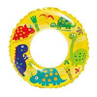 """Надувной детский круг для плавания """"Динозаврики"""" INTEX (61 cm) 59242NP"""