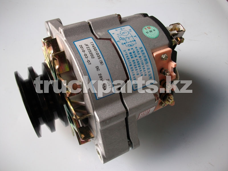 Генератор JFZ 252D2 28V 55A ДВС Перкинс (Perkins) T74501035