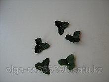 Декор листики.Темно - зеленые. Creativ  1204