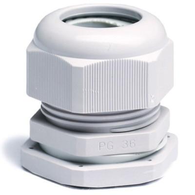 Зажим кабельный с контргайкой, IP68, PG11, д.5 - 10мм