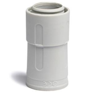 Переходник армированная труба - жесткая труба, IP67, д.16мм