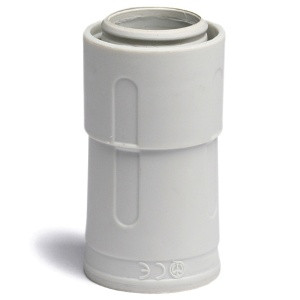 Переходник армированная труба - жесткая труба, IP67, д.32мм