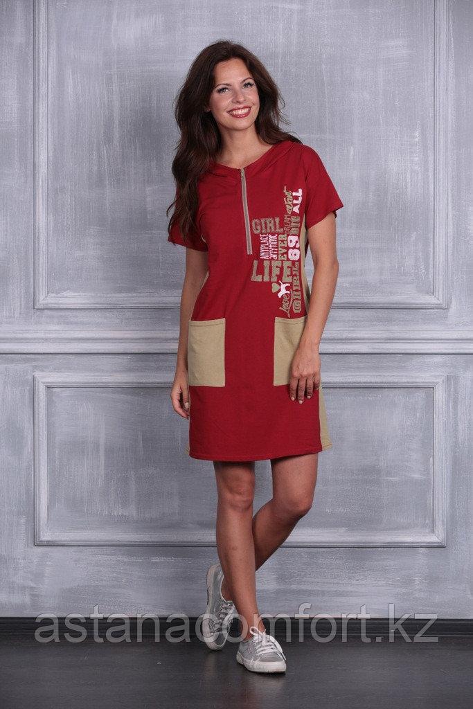 Летнее платье с капюшоном
