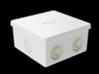 Коробка ответвит. с кабельными вводами, IP44, 80х80х40мм