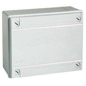 Коробка ответвит. с гладкими стенками,  IP56, 100х100х50мм,цвет красный