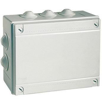 Коробка ответвит. с кабельными вводами, IP55, 120х80х50мм (розница)