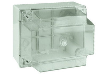 Коробка ответвит. с гладкими стенками, прозрачная, IP56, 150х110х135мм