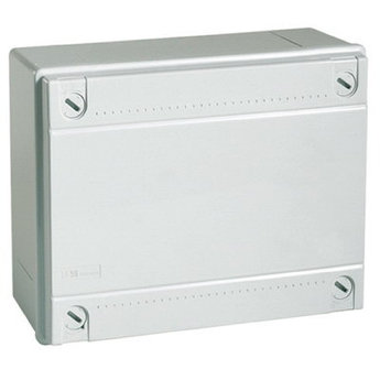 Коробка ответвит. с гладкими стенками, IP56, 190х140х70мм