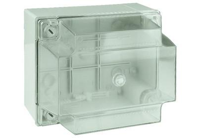 Коробка ответвит. с гладкими стенками, прозрачная, IP56, 240х190х160мм