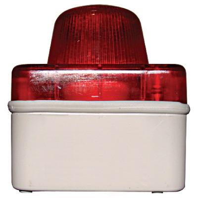 Сигнальная световая арматура, IP54, цвет красный