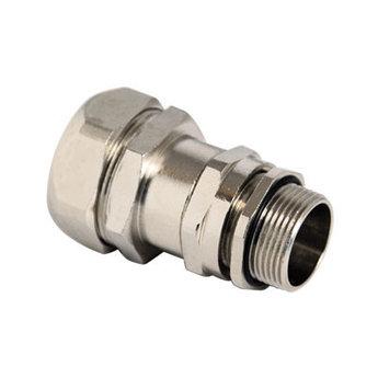 Муфта металлорукав-коробка DN 10 с уплотнением кабеля, IP68, М20х1,5, д.8 - 12мм