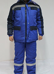 Утепленный костюм Полюс (Зимняя спецодежда)