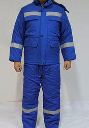 Утепленный костюм Электрик (Зимняя спецодежда)