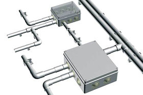 Аксессуары для труб жестких металлических