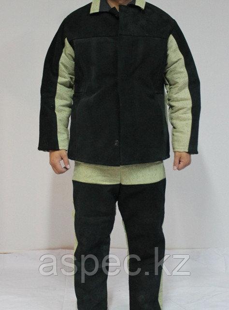 Утепленный костюм сварщика со спилком