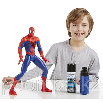 Человек паук стреляющий паутиной Spider Man/Hasbro