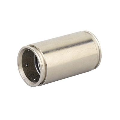 Муфта труба-труба д.20мм, IP66/IP67, никелированная латунь