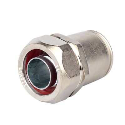 Муфта металлорукав DN 15-жесткая труба д.20мм, IP66/IP67, никелированная латунь
